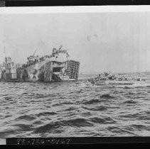 Calisphere: World War II Pacific Theater Beach Heads and