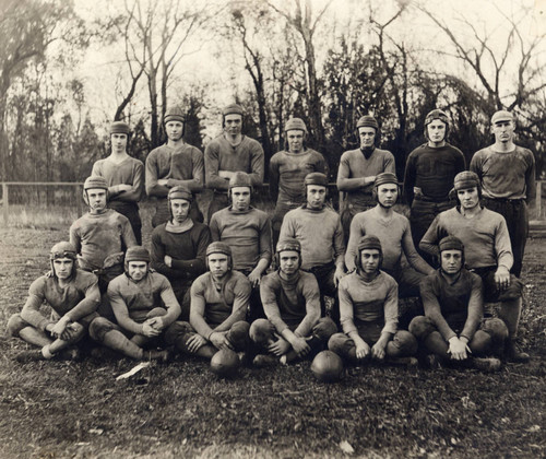 Football Team - Chico Normal School