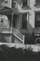 Photograph of the Old Reed home, 1937