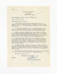 Letter from Isidore B. Dockweiler to Edward Vincent Dockweiler and Jeanne Dockweiler, October 25, 1941
