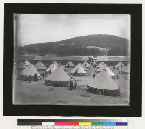 [Refugee camp. Unidentified location.]