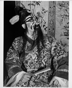 Chinatown in 1948, costume, performer in Chinatown, people of Chinatown