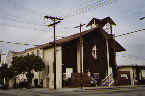 First United Methodist Church, front view