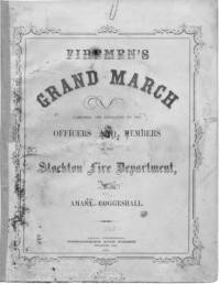 Firemen's grand march / by Amasa Coggeshall