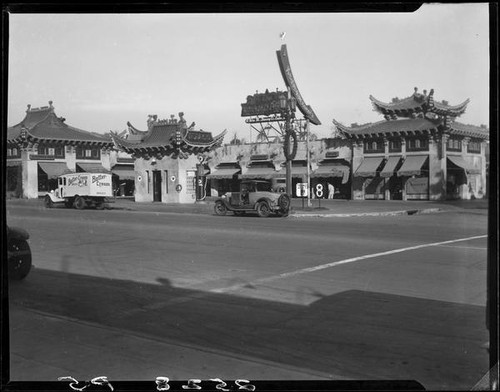 Mandarin Market, Hollywood, 1928 or 1929