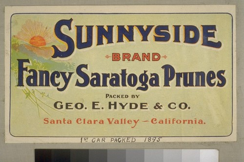 1st Car Packed, 1895