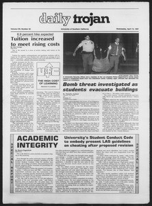 Daily Trojan, Vol. 103, No. 59, April 15, 1987