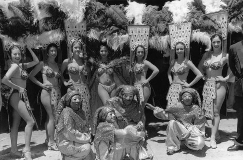 Chorus girls and jesters, Million Dollar Theater