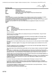 [Email from Peter Redshaw to Alonso Robert, Tom Keevil, Suzanne Wise regarding letter rogatory]