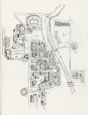 1980s: Map of campus