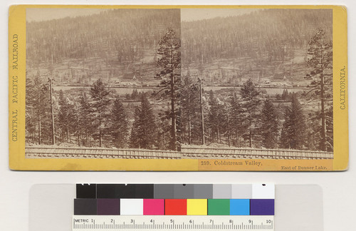 Coldstream Valley, East of Donner Lake