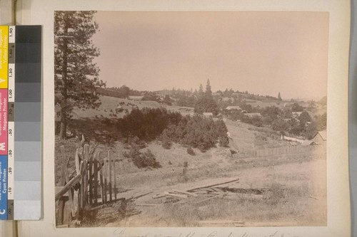 General view of Sheep Ranch, Showing the Mines (Calaveras Co., Cal.). [No.] 11