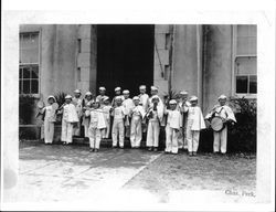 Band of Guerneville School, Guerneville, California, 1935