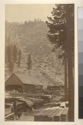 [Lumber mill, unidentified location]