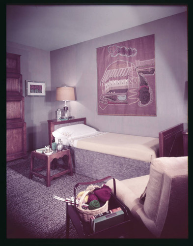 "Pace Setter House of 1951: Color and ""Rejects"". Bedroom"