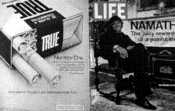 Think about it. Shouldn't your next cigarette be True?