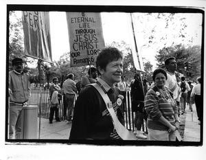 Lesbian participant at March on Washington