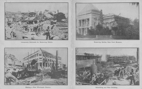 Cleaning up and rebuilding San Francisco after the earthquake