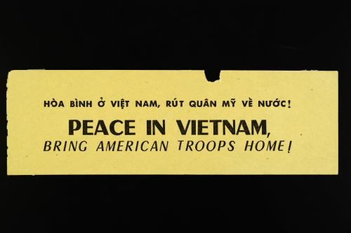 Peace in Vietnam