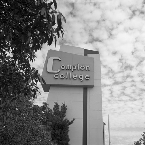 Compton College, Los Angeles, 1972