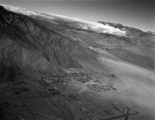 Palm Springs and vicinity, looking northwest