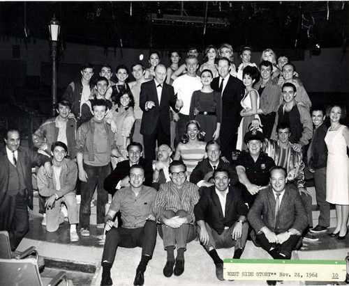 West side story cast photo, 1964