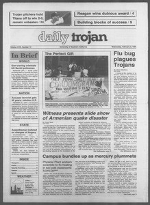 Daily Trojan, Vol. 108, No. 19, February 08, 1989