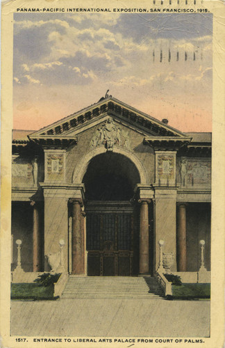 Entrance to the Liberal Arts Palace from Court of Palms