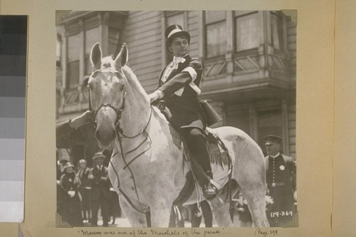 """Marcus was one of the Marshals of the Parade""... Page 199. 179-369. [Jean Hersholt.]"
