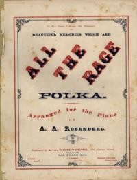 All the rage polka / arranged by A. A. Rosenberg