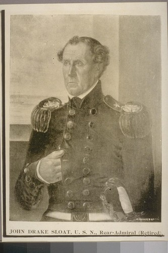 John Drake Sloat of the United States Navy
