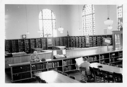 [Interior of Richmond Branch Library]