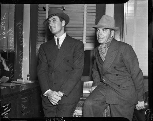 Calisphere Julius Groucho Marx And His Brother Leonard