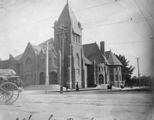 View of M. E. Church, Pasadena
