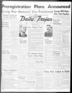 Daily Trojan, Vol. 40, No. 65, December 15, 1948