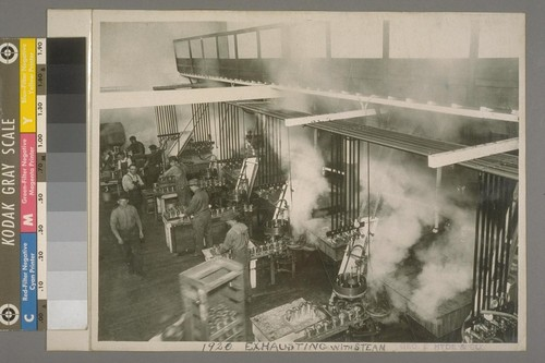1920, Exhausting with Steam