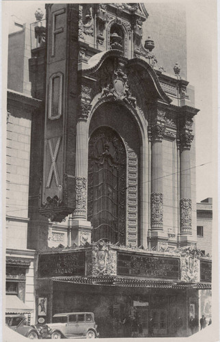 [Photograph of the exterior of Fox Theatre]