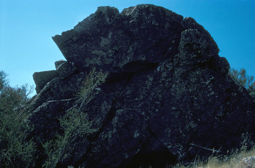 View of Medicine Rock at Stonyford