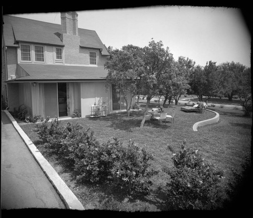 Deutsch, A. C., residence. Landscaping and Exterior