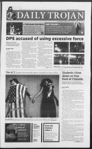 Daily Trojan, Vol. 160, No. 42, March 22, 2007
