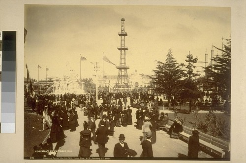Opening Day of the C.M.I.E., San Francisco, January 27, 1894