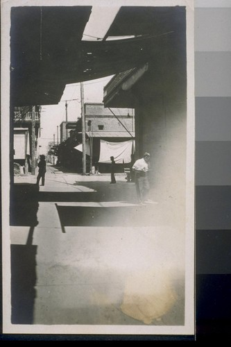 Jap alley. Fresno, Cal. 1910. [Alley in Japanese commercial district.]