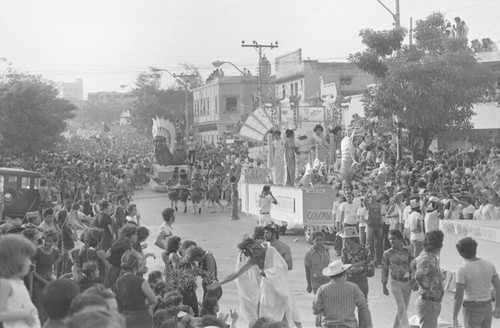 Floats of the Carnaval de Barranquilla, Barranquilla, Colombia, 1977