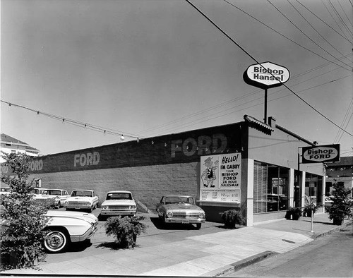Bishop Hansel Ford dealership Santa Rosa California 1963 & Calisphere: Bishop Hansel Ford dealership Santa Rosa California ... markmcfarlin.com