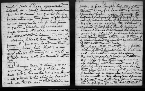 Letter from John Muir to [Jeanne C.] Carr, [1874 Sep]
