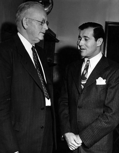 Bugsy Siegel and attorney