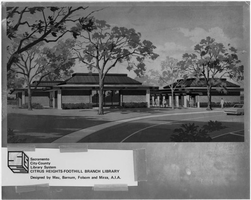 Artsist's Rendering of Sylvan Oaks Branch