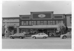 Copperfield's Trading Company book store at 138 North Main, Sebastopol, California, about 1980