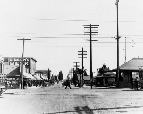 Looking east on 103rd Street, Watts