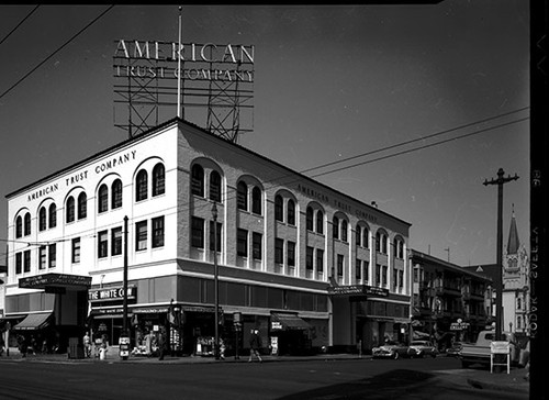 [2589 Mission Street at 22nd Street, American Trust Company, The White Cow, Taste Good Bakeries]